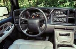 2000 Chevrolet Tahoe Dash