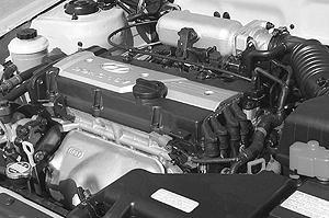 2001 Hyundai Accent 1.6 litre DOHC 16V