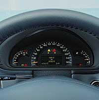 2001 Mercedes-Benz C-Class Speedometer