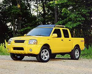 Nissan Frontier 4X4 Crew Cab SC-V6