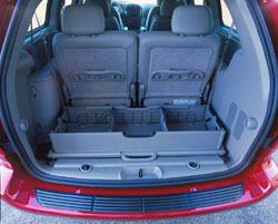 2001 Dodge Grand Caravan ES rear organizer