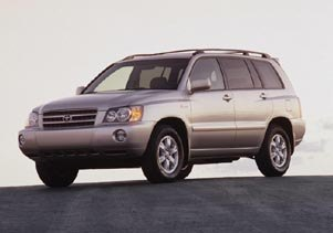 Test Drive: 2001 Toyota Highlander toyota car test drives