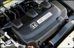 2001 Honda Insight engine