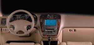 2001 Acura MDX dash