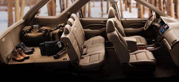 2001 Acura MDX interior