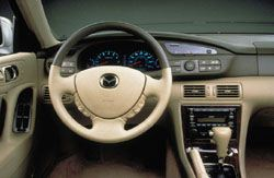 2001 Mazda Millenia dash