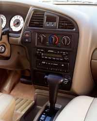 2001 Nissan Pathfinder - dash