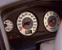 2001 Nissan Pathfinder - gauges