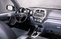 2001 RAV4 Interior - click for larger image