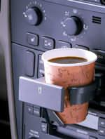 2001 Volvo S40 cupholder