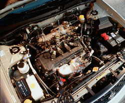 2001 Nissan Sentra Engine