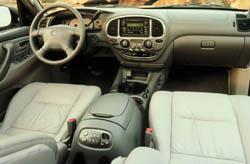 2001 Toyota Sequoia interior