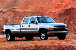2001 Chevrolet Silverado HD 3500 Crew Cab
