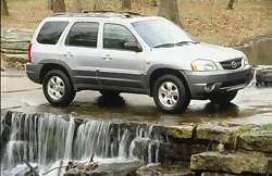 Test Drive: 2001 Mazda Tribute mazda car test drives