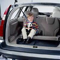 2001 Volvo V70 Rear Seat