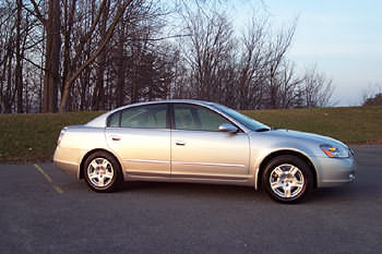 2002 nissan altima gxe
