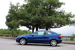2002 Mercedes-Benz C230 Kompressor Sport Coupe
