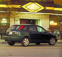 Test Drive: 2002 Ford Focus ZX5 car test drives ford