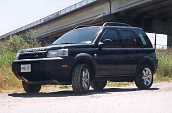 Test Drive: 2002 Land Rover Freelander SE car test drives landrover