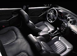 2002 Pontiac Grand Am with leather
