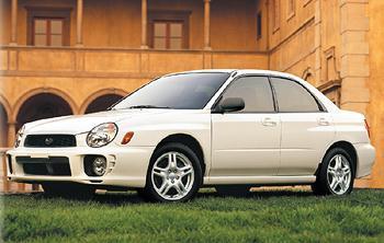 2002 Subaru Impreza 2.5RS