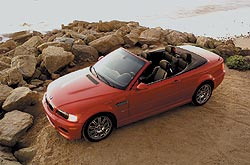 2002 BMW M3 SMG convertible
