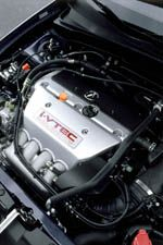 2002 Acura RSX Type-S engine