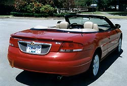 Test Drive: 2002 Chrysler Sebring GTC convertible car test drives chrysler