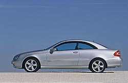 2004 Mercedes-Benz CLK 500 coupe
