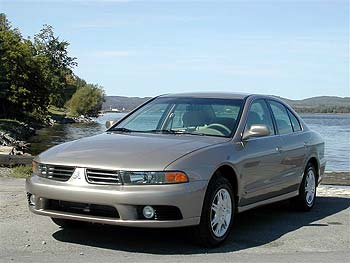 Captivating 2003 Mitsubishi Galant ES