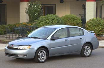 Test Drive: 2003 Saturn Ion Sedan saturn