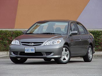 Test Drive 2004 Honda Civic Si Sedan Autos Ca
