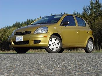 2004 Toyota Echo hatchback LE 4-door