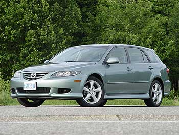 test drive 2004 mazda6 gt v6 sport wagon. Black Bedroom Furniture Sets. Home Design Ideas