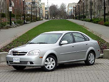 Test Drive: 2004 Chevrolet Optra LS Sedan - Autos.ca