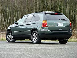 chrysler pacifica test
