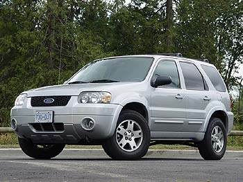 2005 Ford Escape 4x4 Limited