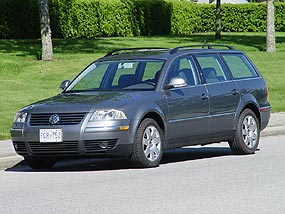 test drive 2005 volkswagen passat tdi wagon gls. Black Bedroom Furniture Sets. Home Design Ideas