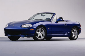 Test Drive: 1999 Mazda Miata, 10th Anniversary Model car test drives mazda