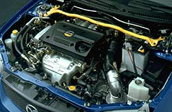 2001 Mazda MP3 engine