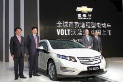 Chevrolet Volt will be sold in China general news
