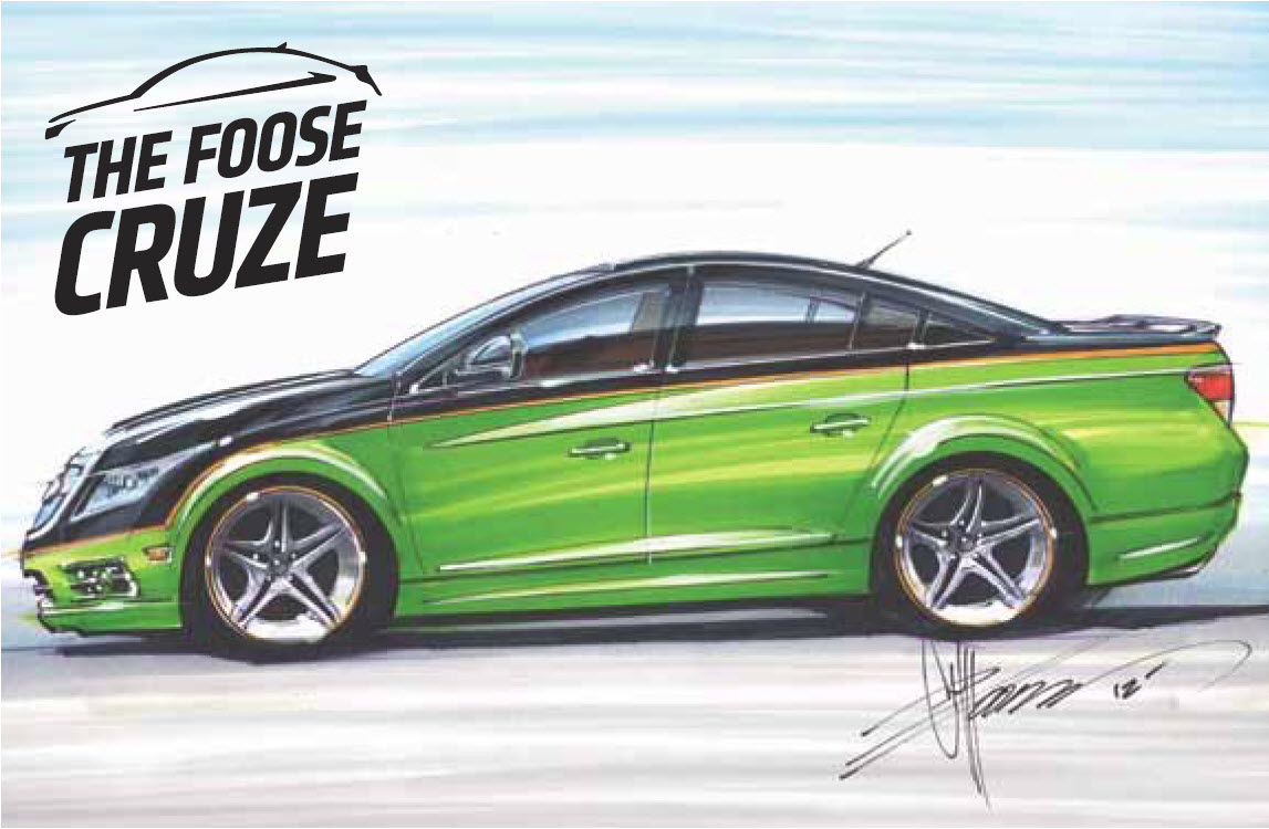 Win a Cruze by Chip Foose at Toronto show  Autosca
