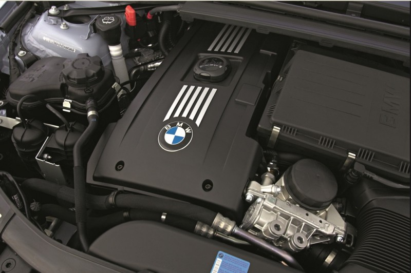 BMW Twin Turbo Engine