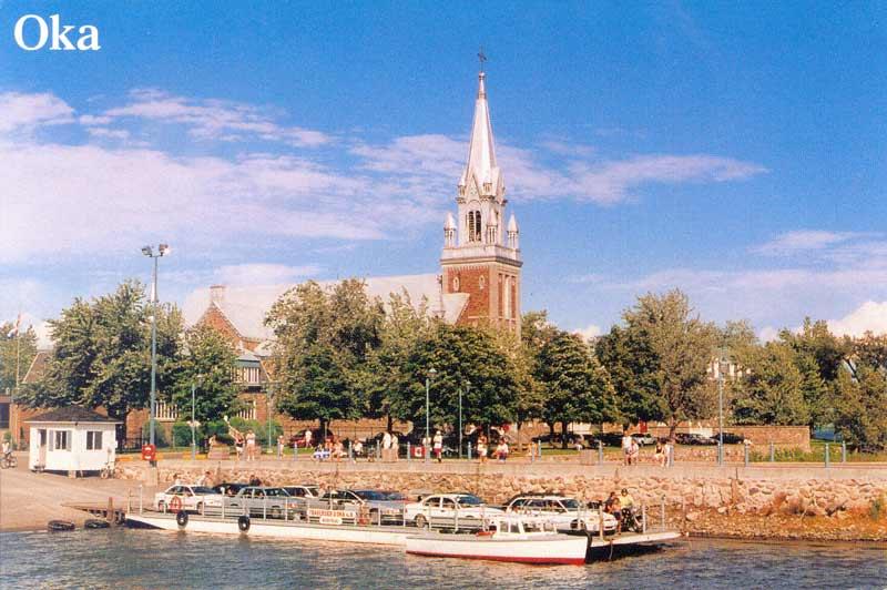 Oka - Hudson Ferry