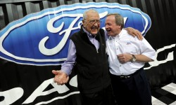 Carroll Shelby and Edsel Ford II at 2011 SEMA Show