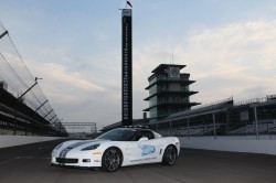 2012 Corvette ZR1 Indy Pace Car Track View