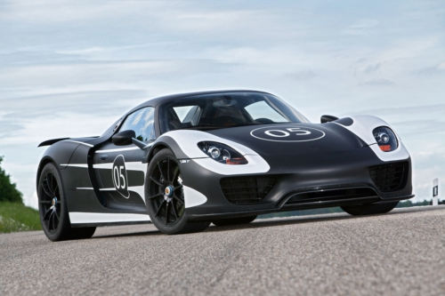 Porsche 918 Spyder Continues Road Testing general news