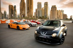 Nissan JUKE-R Stars in Own Movie: Desert Nemesis