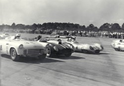 New Smyrna Beach Airport Races, New Smyrna Beach, FL, 1957.