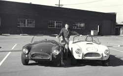 Cobra publicity, Venice, CA, 1964.